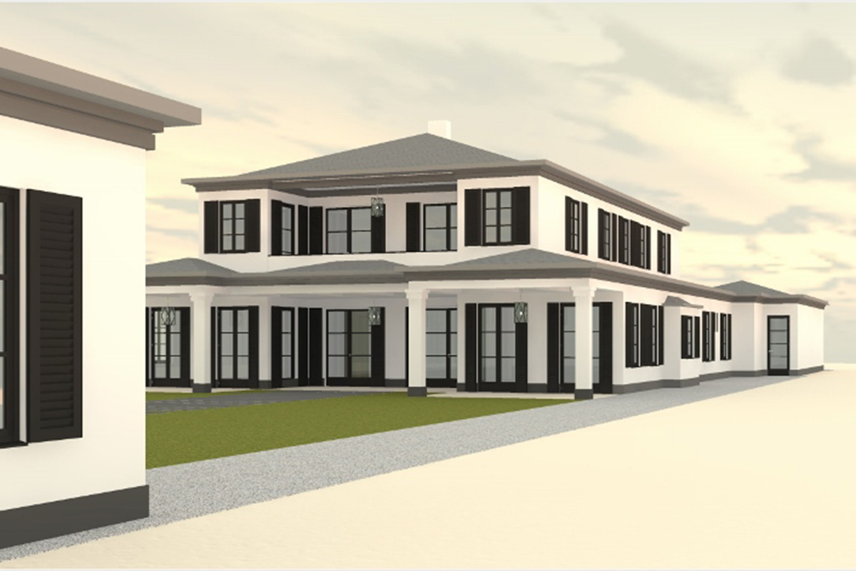 architect designs for new construction build