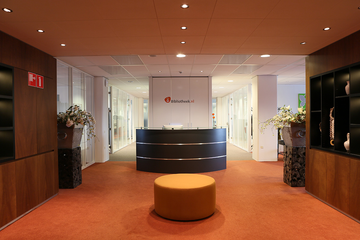 Modern office interior for corporate client