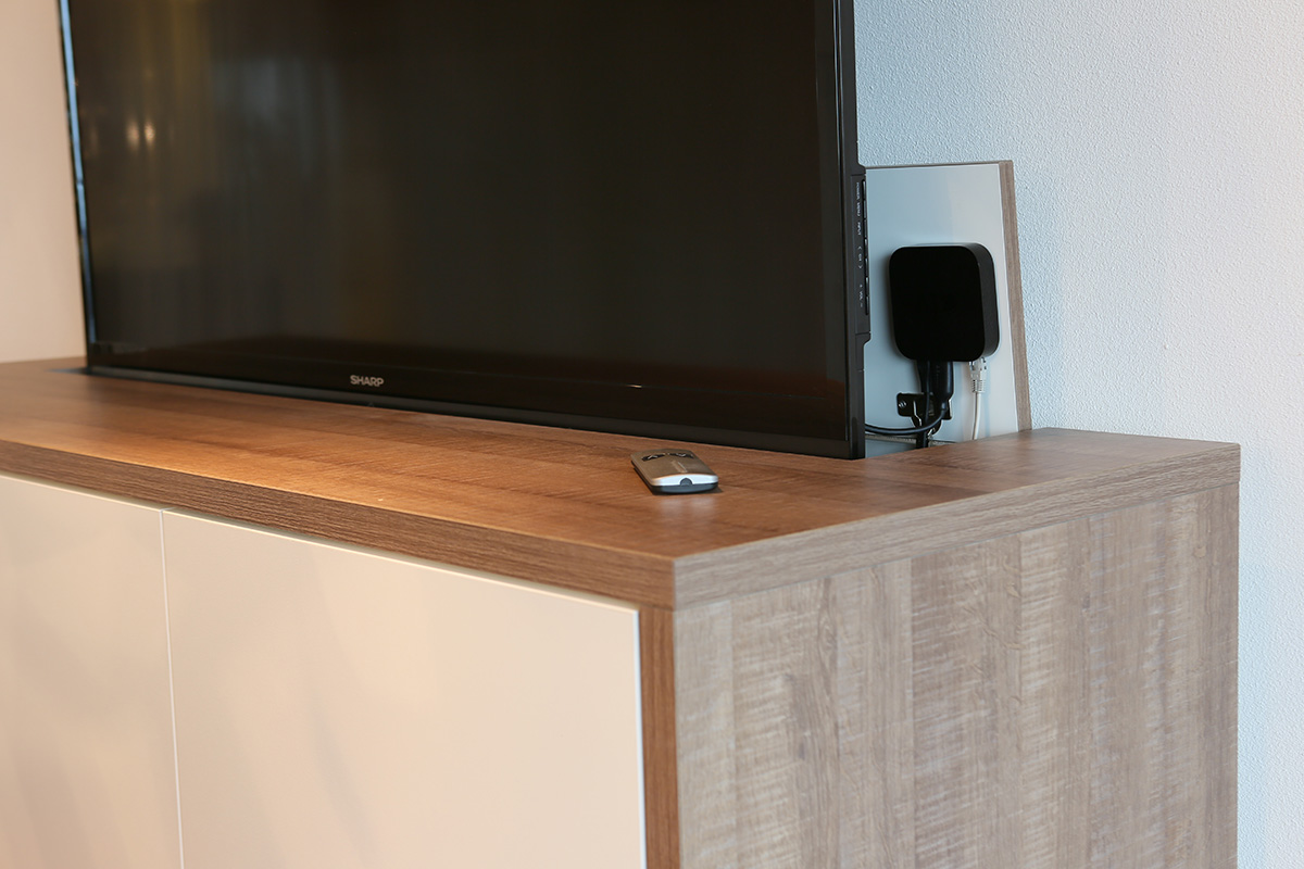 TV unit for meeting room design