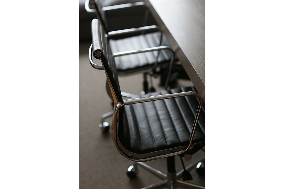 leather office chairs for meeting room