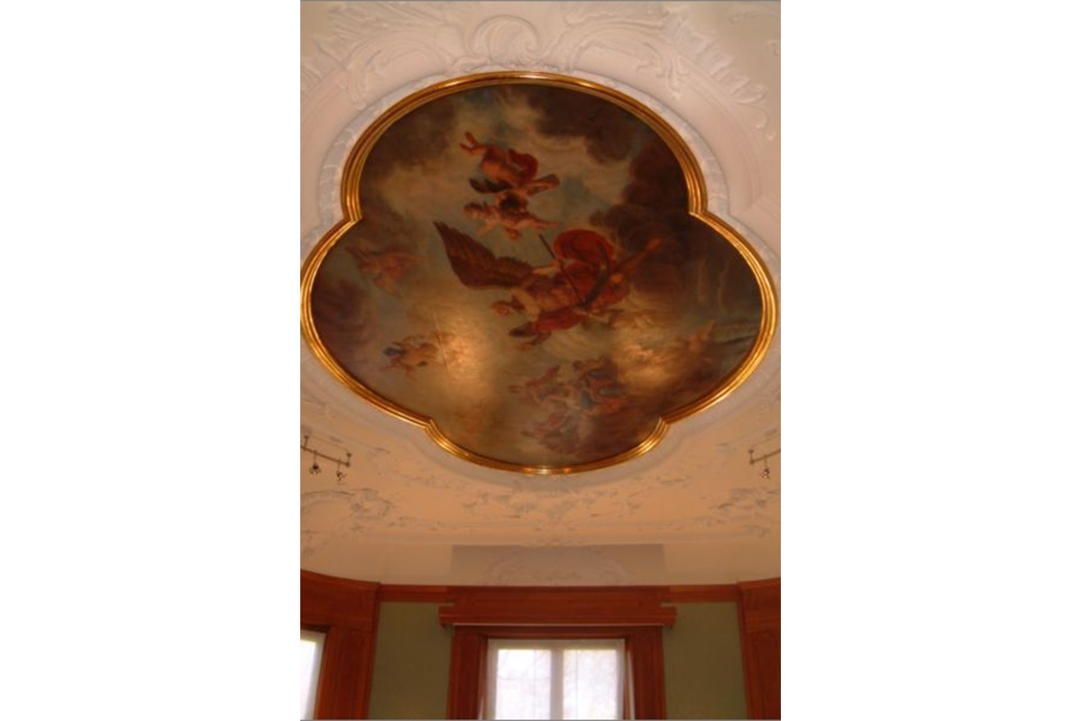 Ceiling painting and works for a renovation project