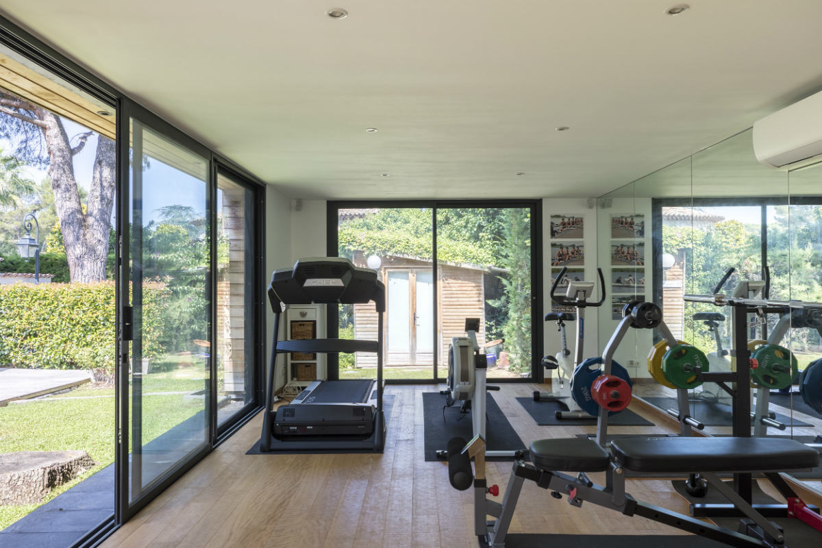 Home GYM Interior design